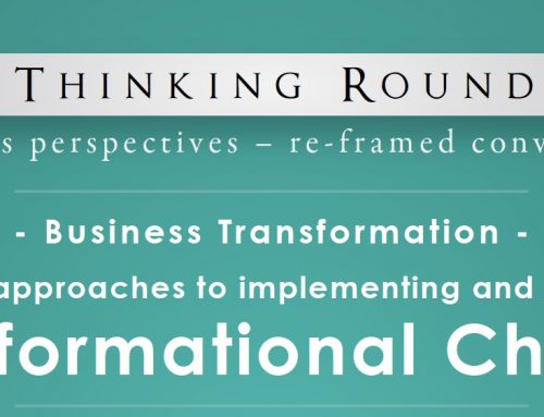Edge Thinking Roundtable, Melbourne May 25th, 2017 – Transformational Change