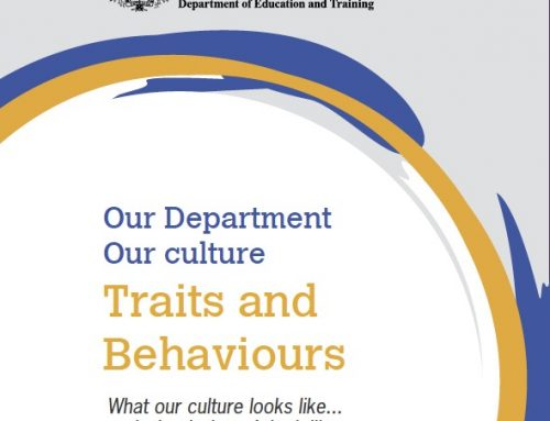Department of Education and Training: Culture Change Program
